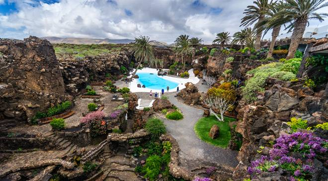 Csar Manrique route in Lanzarote cultural routes at Spain is culture