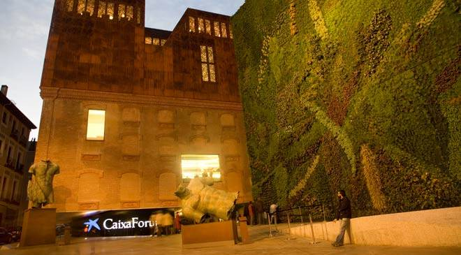 CaixaForum Madrid museums in Madrid at Spain is culture