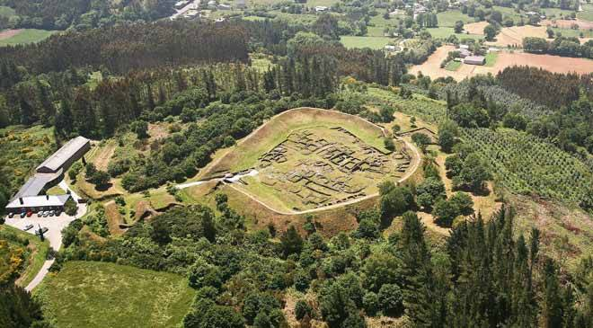 Celtic hill forts in Galicia architecture in Spain is Culture