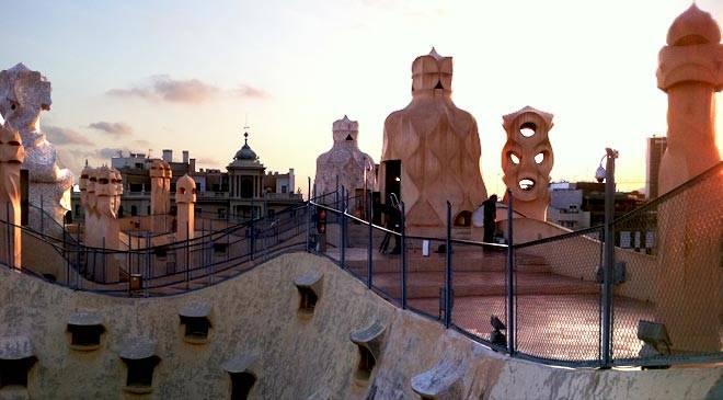 Casa Mil house La Pedrera 3D virtual visit in Spain is Culture