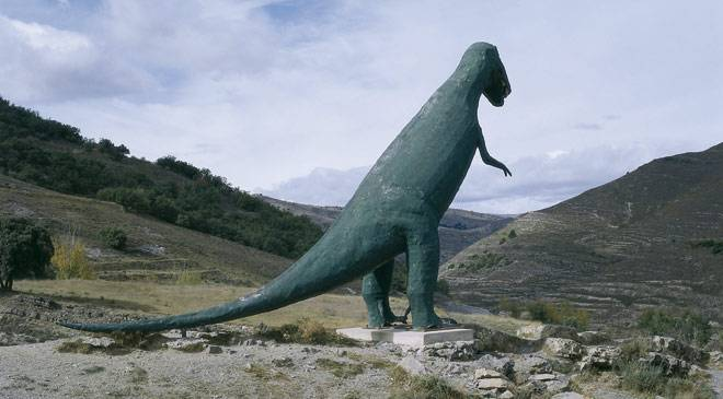 the dinosaur route cultural