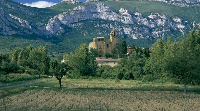 The lava district of La Rioja region the home of wine cultural routes at Spain is culture