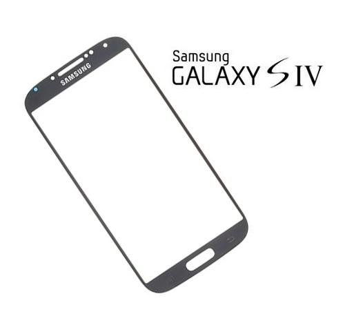 Cristal Pantalla Galaxy S4 Negra (Black) > Repuestos