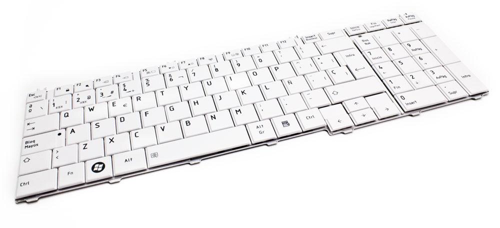 Teclado Toshiba C650 Blanco (LA) > Informatica > Repuestos