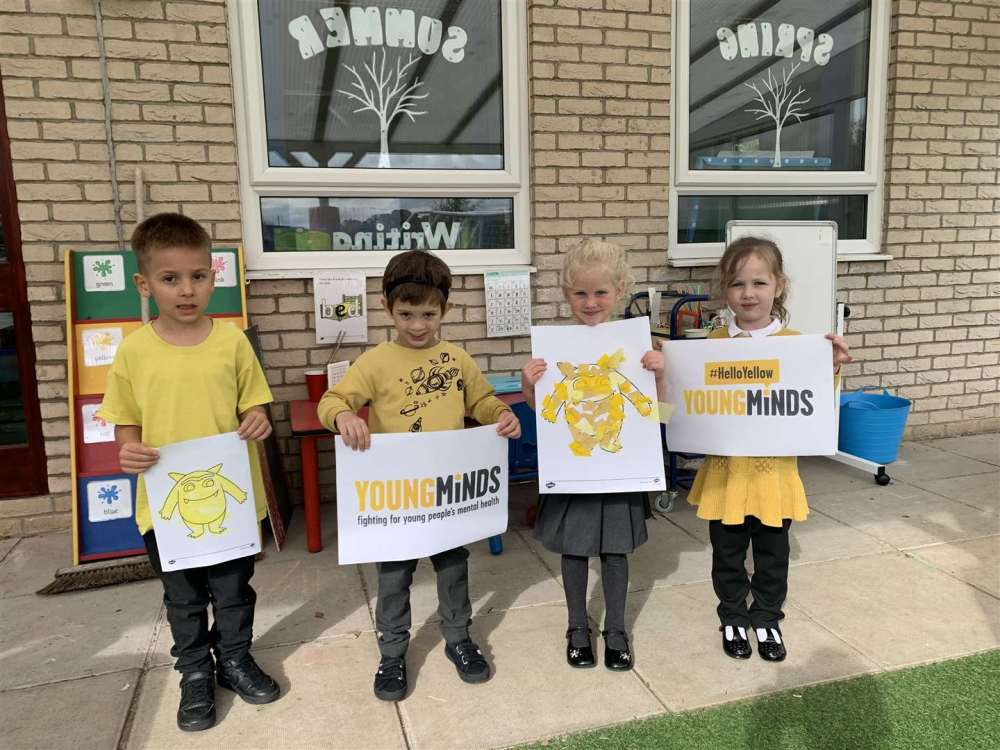 Holbeach bank and holbeach primary academy youngsters support every mind matters (42699604)