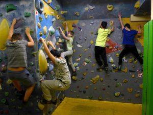 Read more about the article Exkursion zur Boulderhalle