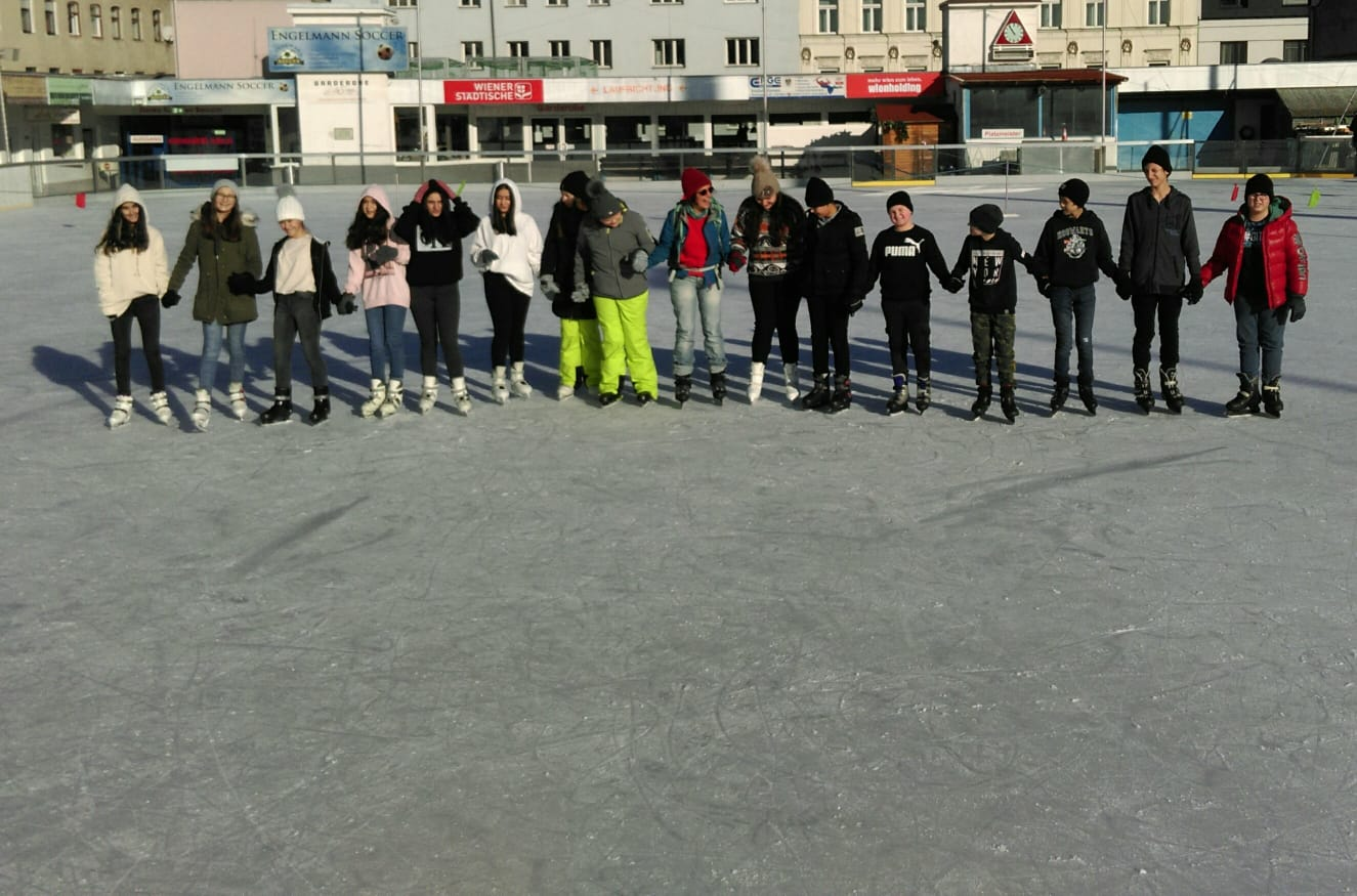 Eislaufen mit der 2c