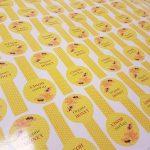 Medaus etiketės (100x50 mm) - Spalvota Reklama