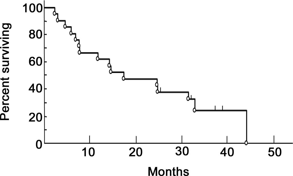 Methotrexate and gemcitabine combination chemotherapy for