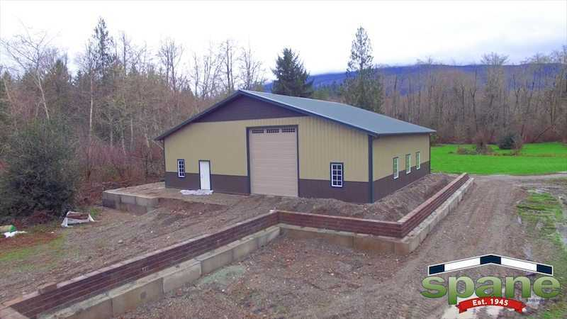 Helicopter Garage Spane Buildings Pole Barn Builder
