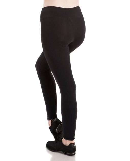 Wide Band Legging-Black