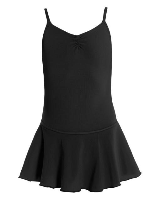 Leotard with Skirt-Black