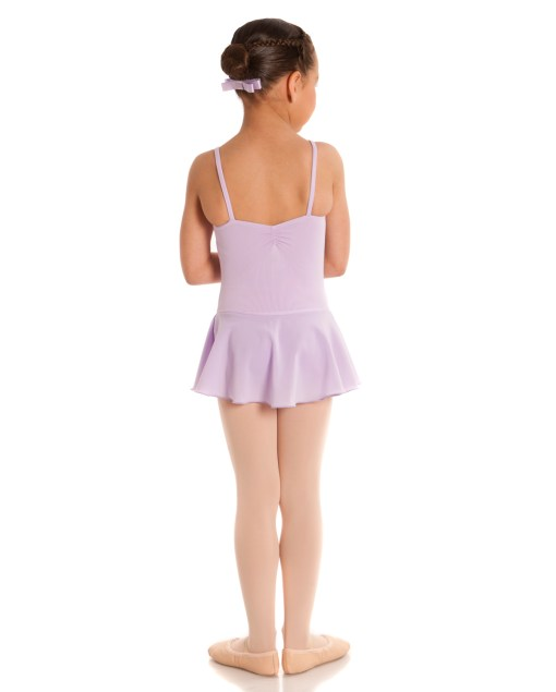 Leotard with Skirt-Lilac