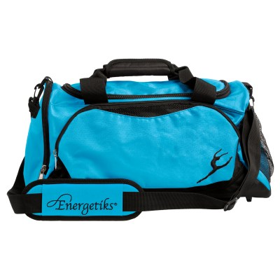 Medium Dance Bag-Black/Turquoise