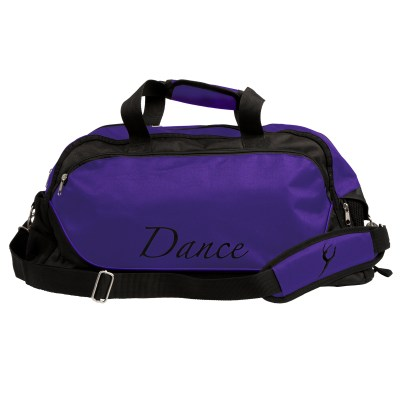 Dance Bag Large-Black/Deep Purple