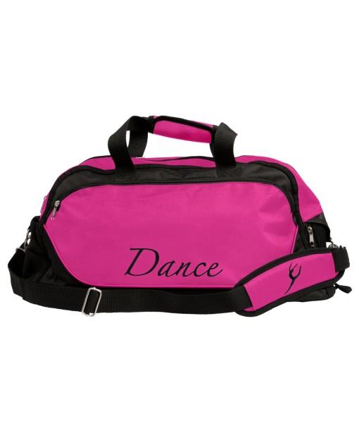 Dance Bag Large-Black/Mulberry