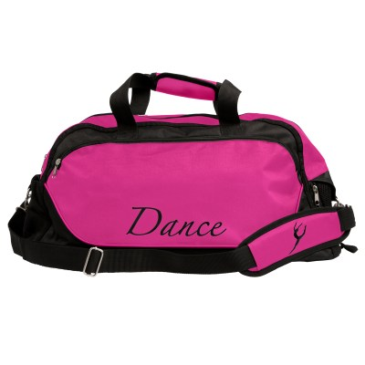 Dance Bag Large-Black/Mulberry