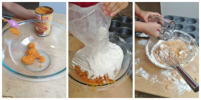 Three Ingredient Pumpkin Cupcakes