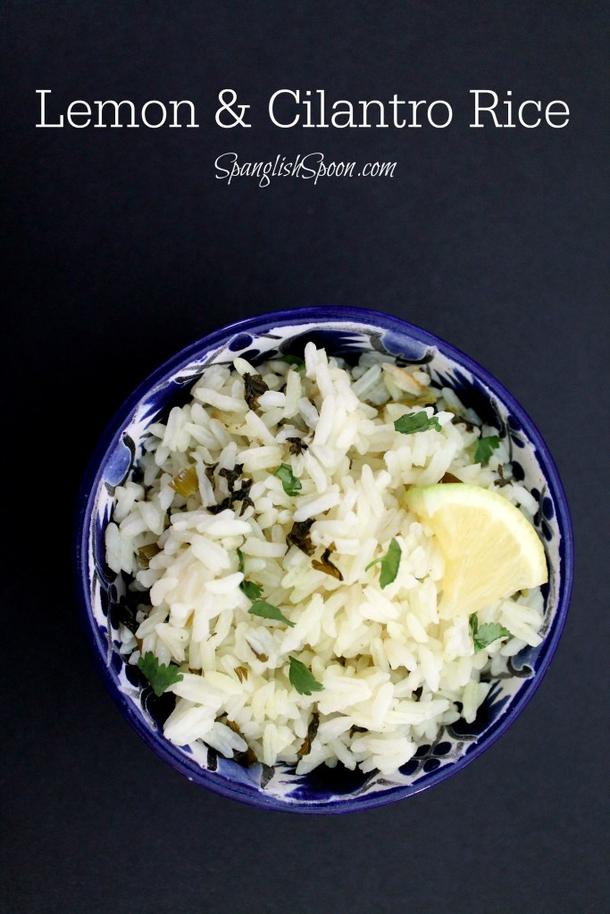 Lemon and cilantro rice 4.3