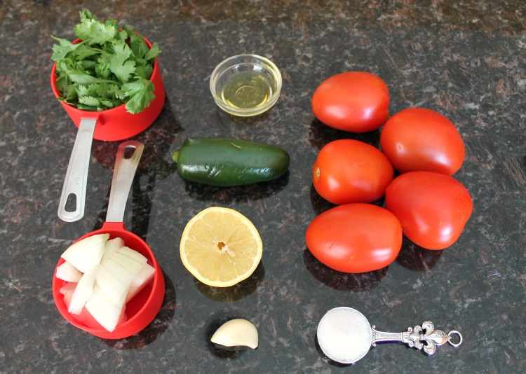 Easy Fresh Salsa 3spsp