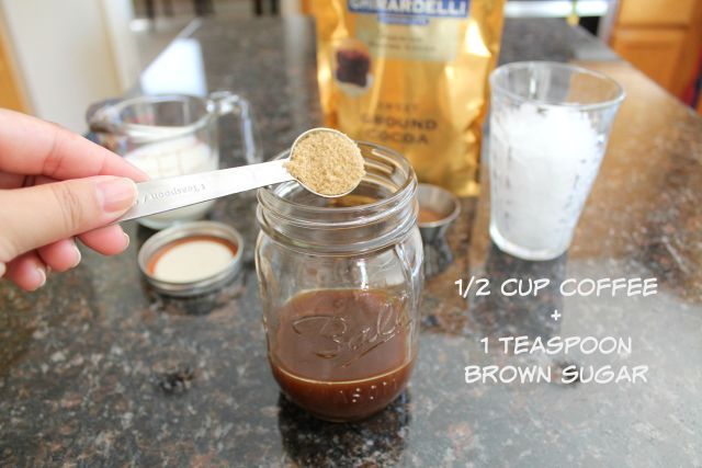 2 minute iced mocha coffee 3