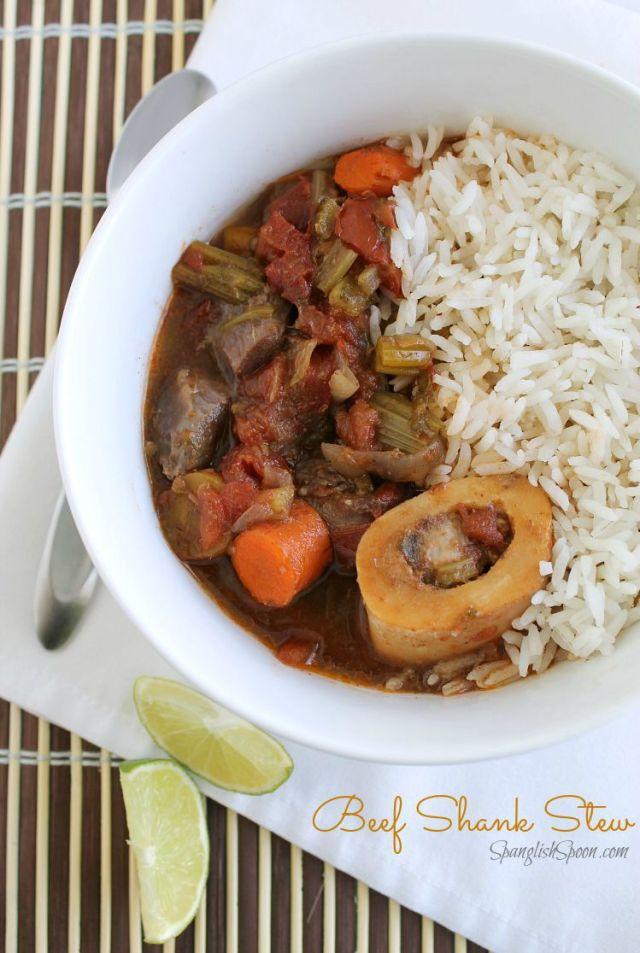 Beef shank stew 1