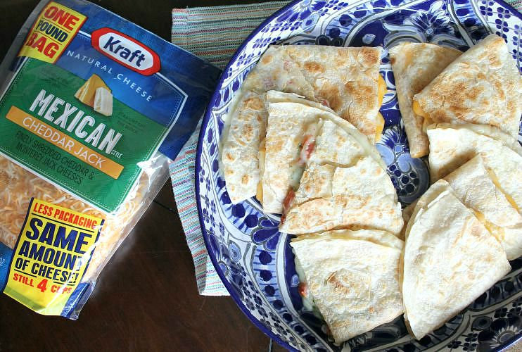 Quesadillas Two Ways