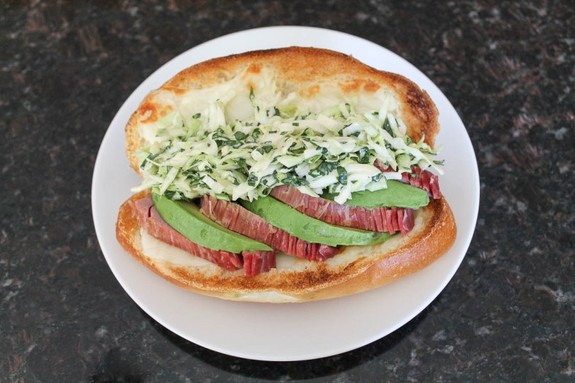 Corned Beef Bolillo Sandwiches