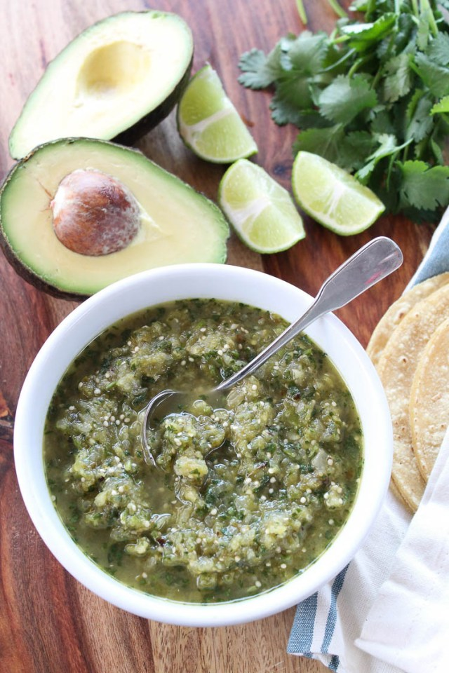Chile Verde Chunky Salsa 13