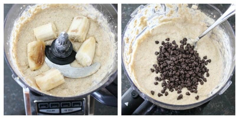 Banana Oatmeal Mini Muffins