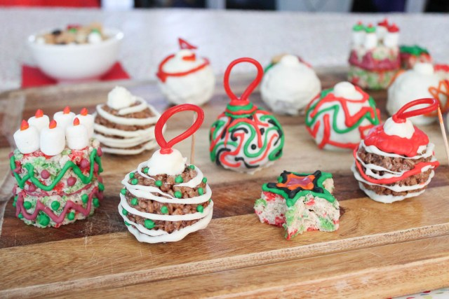 Kelogg's Rice Krispies Treats Ornaments