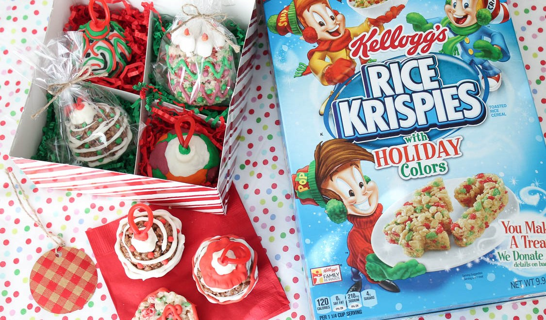 Rice Krispies Ornament Treats