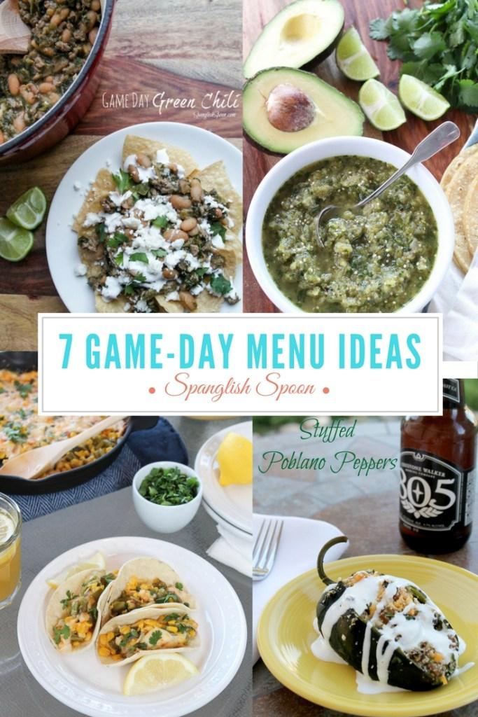 7 Game-day menu ideas