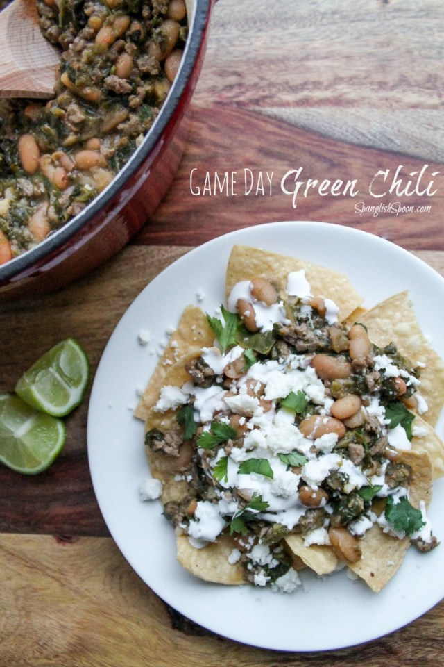 Green Chili With Minced Meat