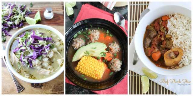 Top 5 Soups and Stews via Spanglish Spoon