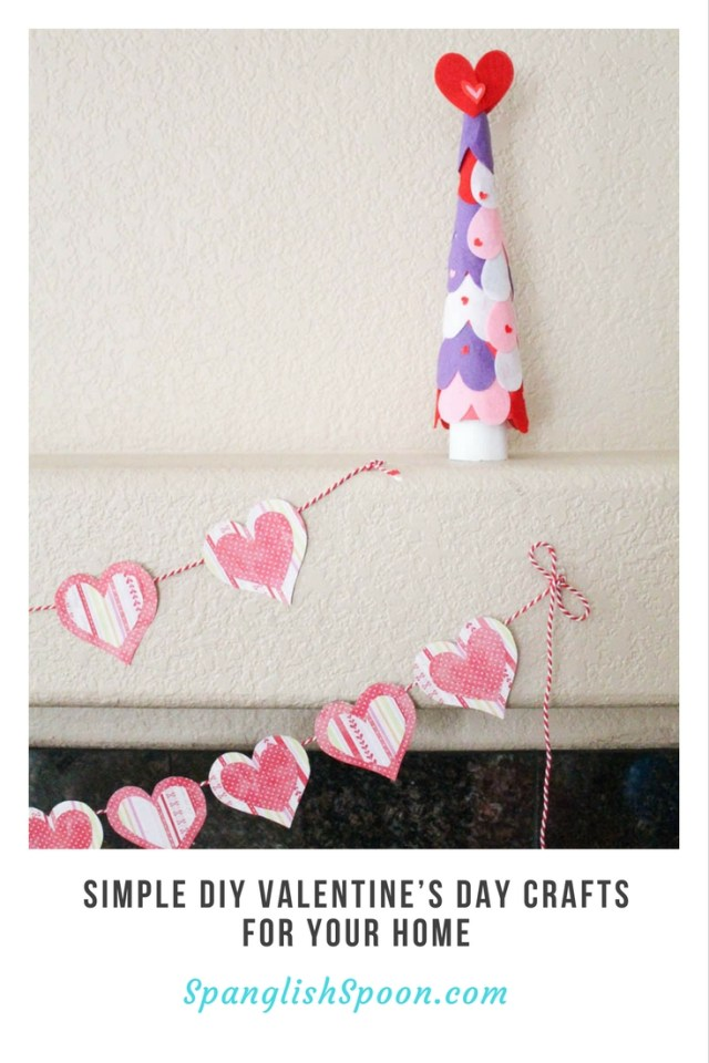 Simple DIY Valentine's Day Crafts For Your Home