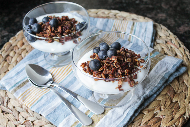 Mexican Chocolate Granola
