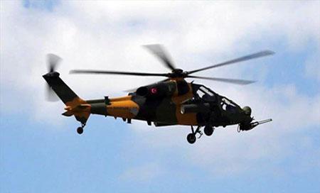 helicoptero militar de Turquia