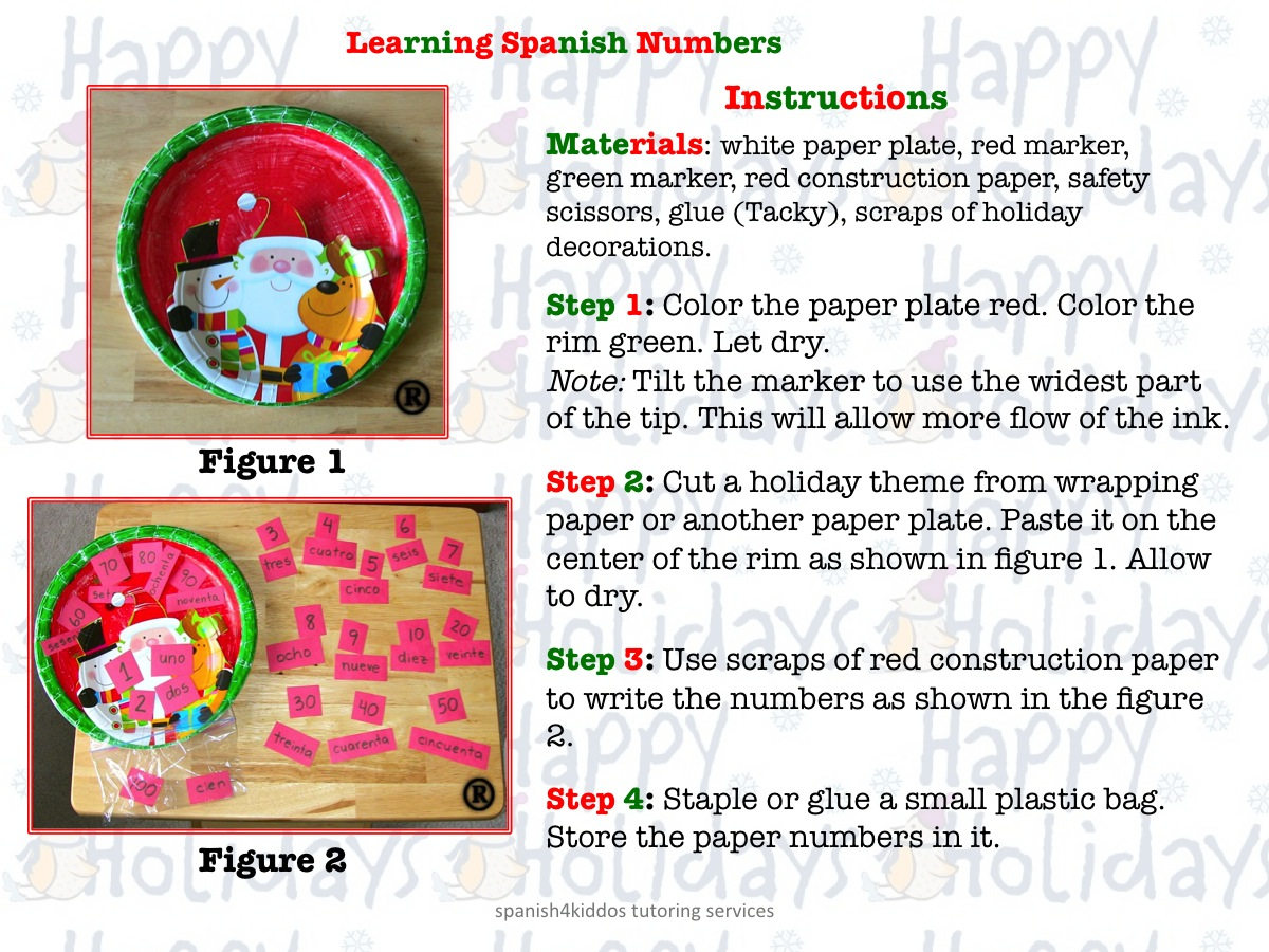 Learning Spanish Numbers Spanish4kiddos Educational Resources