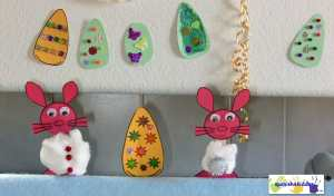 Finger puppets using homemade materials