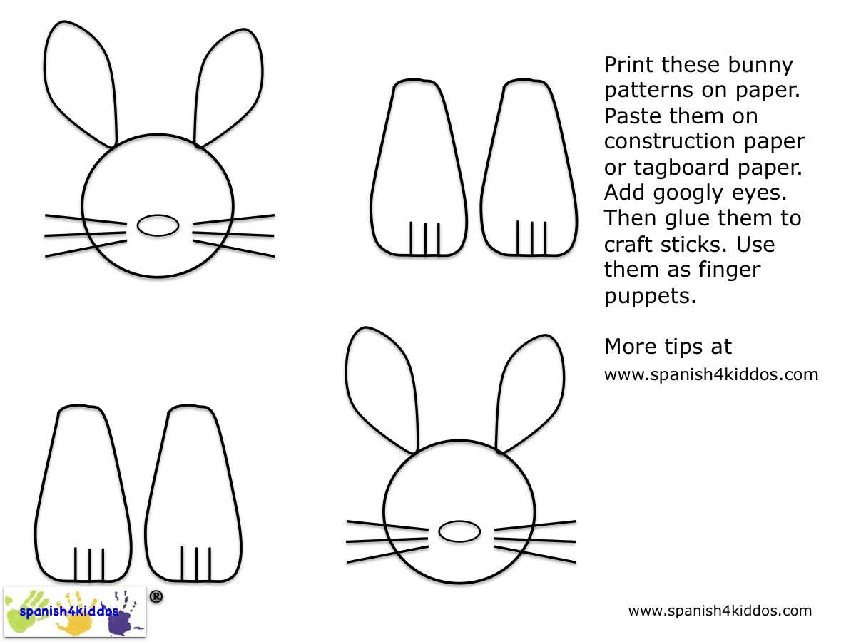 Paper Plate Easter Bunny Craft Slideshow Step By Step Instructions How Make
