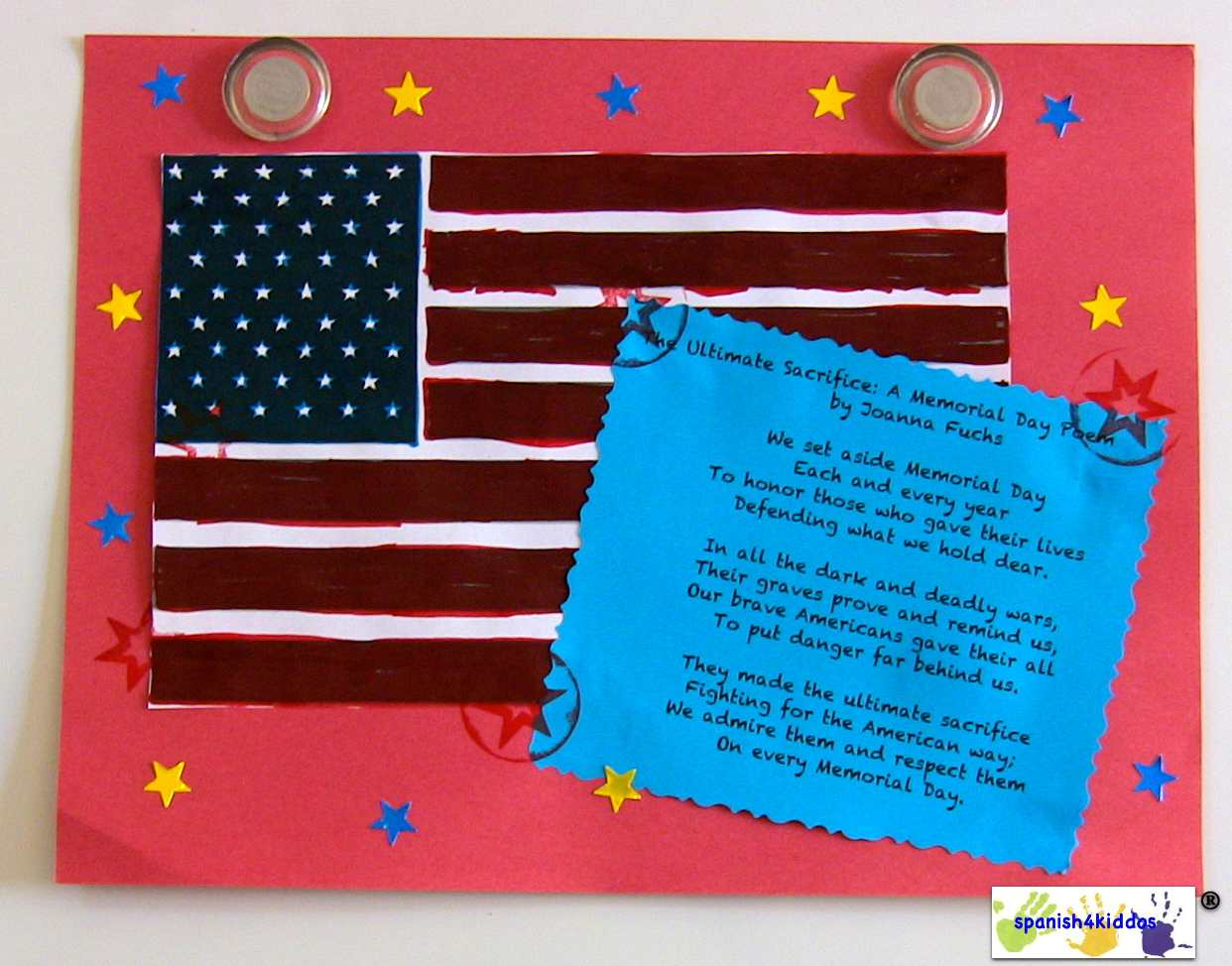 Memorial Day Easy And Fun Craft For Children