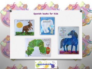 Spanish books by Eric Carle
