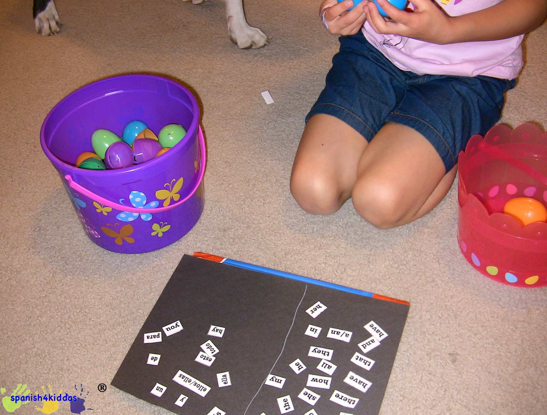 Putting Sight Words On Paper