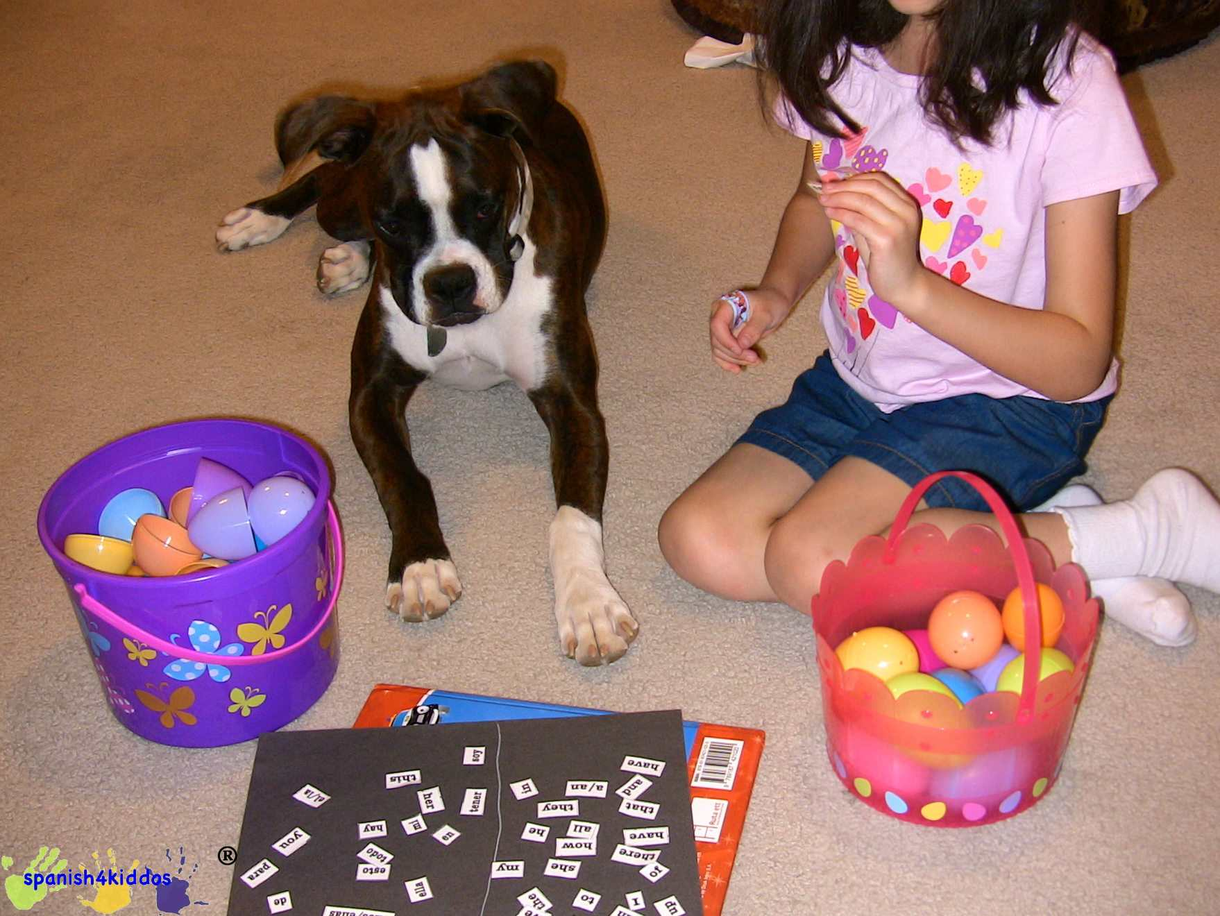 Easter Egg Learning Activity