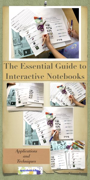 Essential Guide To Interactive Notebooks Spanish4kiddos