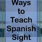teach Spanish sight words