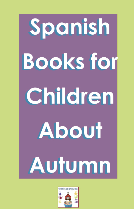 Spanish autumn books for children