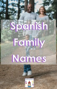 family members in Spanish words