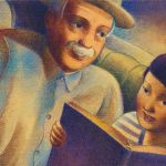Image from Tomas and the Library Lady